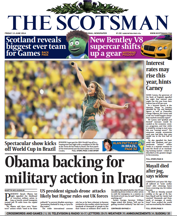 President Barack Obama backs military action in Iraq