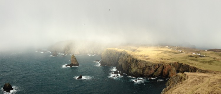 Fair Isle is the most remote inhabited island in Britain. Picture: Louise Lockwood